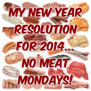 NO MEAT MONDAY
